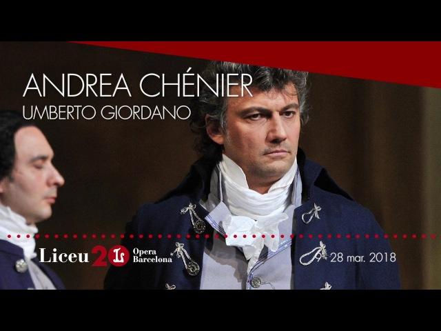 """'Andrea Chénier' (2017/18) - Un dì all'azzurro spazio"""""""