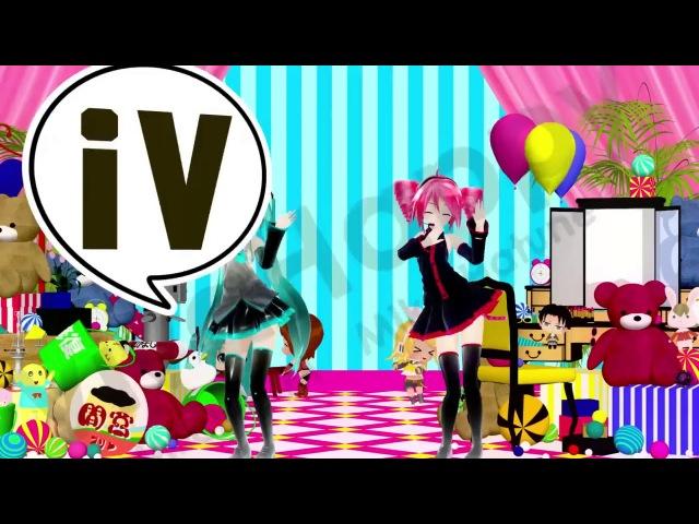 Lagu AnimeMiku Hatsune Kasane Teto
