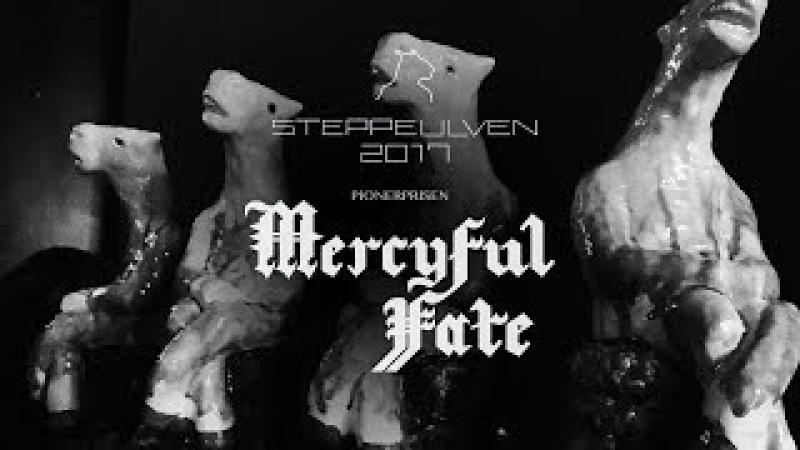 MERCYFUL FATE - Steppeulven 2017 (Pionerprisen)