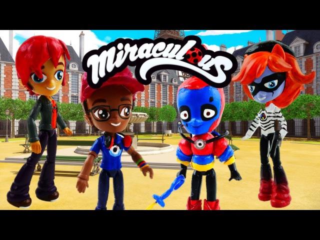 DIY Compilation - Bubbler Nino Evillustrator Nathaniel Miraculous Ladybug Toys MLP Minis