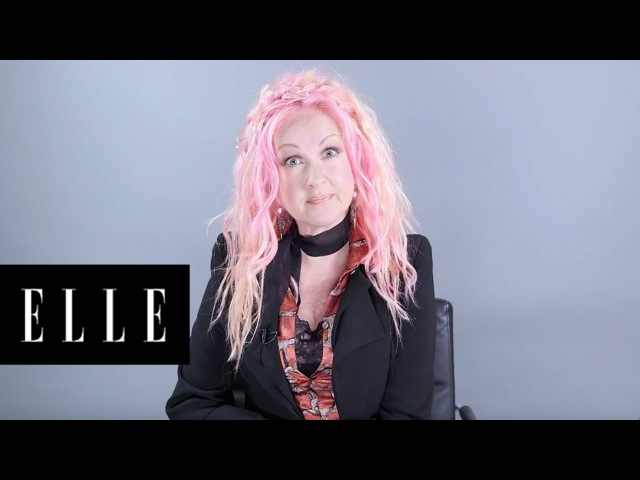 How to Have Healthy Colored Hair | Cyndi Lauper's Life Advice | ELLE