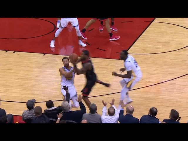 Stephen Curry Trevor Ariza Collide | Warriors vs Rockets | January 4, 2018 | 2017-18 NBA Season