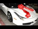 Tyga Gives Kylie Jenner a new Ferrari for her 18th Birthday