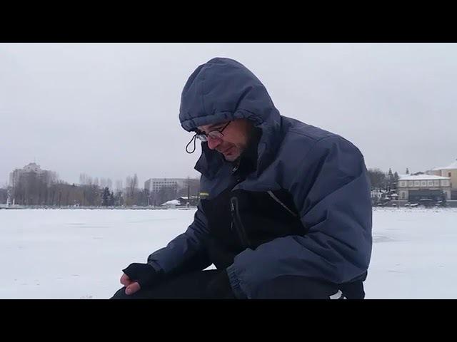 Зимова рибалка на Тернопільському озері. ЧАСТИНА 2