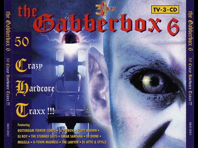GABBERBOX VOL. 6 [FULL ALBUM 223:34 MIN] HD HQ HIGH QUALITY 1997 50 CRAZY HARDCORE TRAXX