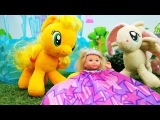 Штеффи попала в страну Пони во сне. Игры Барби