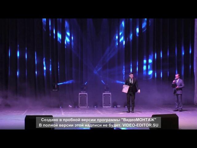 Благотворительный концерт в ДК профсоюзов 15.12.17г. Астемир Насипов