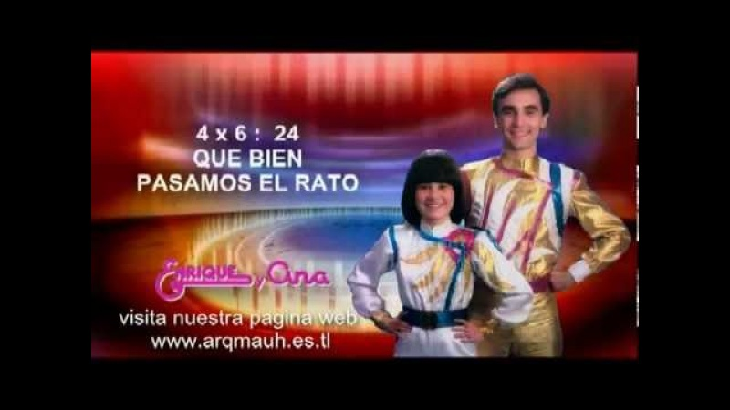 71- ENRIQUE Y ANA - LA TABLA DEL CUATRO - audio y letra