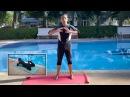 Плавание брассом обучение ученика технике толчка ногами урок 1 EXERCISE 1 with student