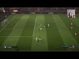 FIFA 18 PS4 прохождение за тренера с plmaldini #53 milan - lazio (uefa)