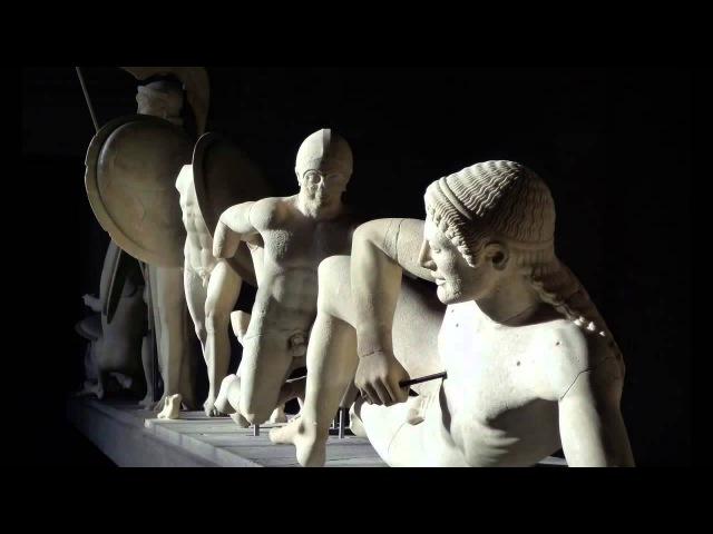 Архаика и ранняя классика: восточный и западный фронтоны храма Афайи, Эгина