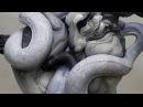 Nghệ thuật tạo hình đất sét Beth Cavener Sculptor