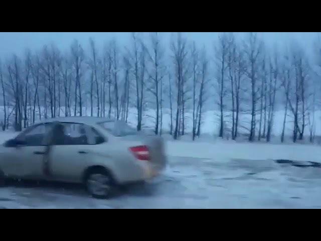 Авария на трассе Казань-Оренбург