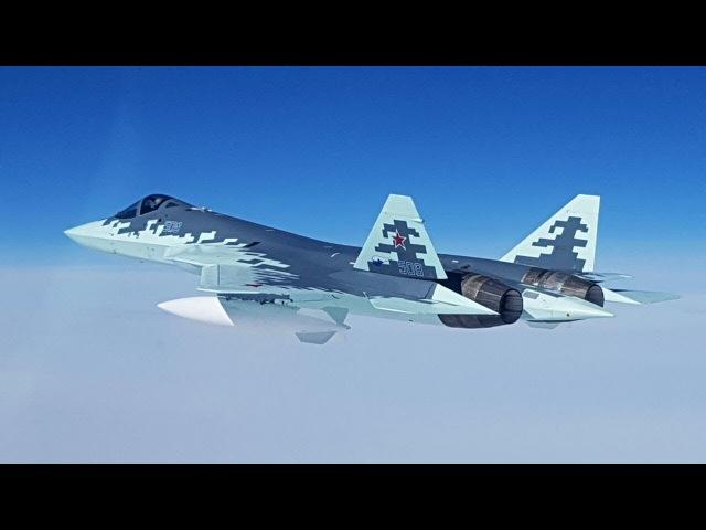 Лучший многоцелевой истребитель России( Т-50)PAKFA СУ 57