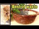 How to make bonsai pot at home
