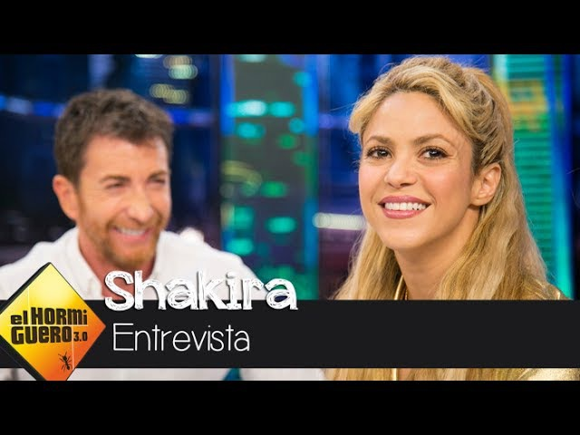 Shakira cuenta la historia de amor con Piqué que hay detrás de 'Me enamoré' - El Hormiguero 3.0