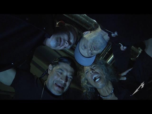 Metallica: Pre-Show Huddle (London, England Night 1 - 2017)