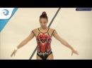 Daria Tikhonova RUS 2017 Aerobics Europeans junior qualifications