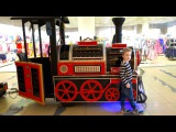 Learn colors with Color Train Bad Baby Song for Kid Educational Video for Children Finger Family