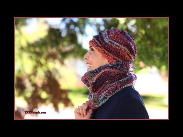 How to Crochet Tutorial DIY Grab n' Go Hat Womens Cap by YARNutopia