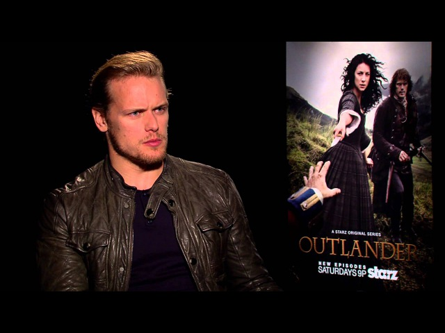 Sam Heughan of Outlander discusses his lovehate relationship with Social Media