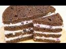 Черничные ночи 🌛 Очень вкусный🍫 Шоколадно Ягодный торт English Subtitles Я ТОРТодел