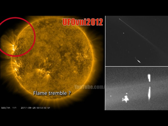 Giant invisible UFO, Sun diving comet unknown deep space object captured by SOHO Spacecraft