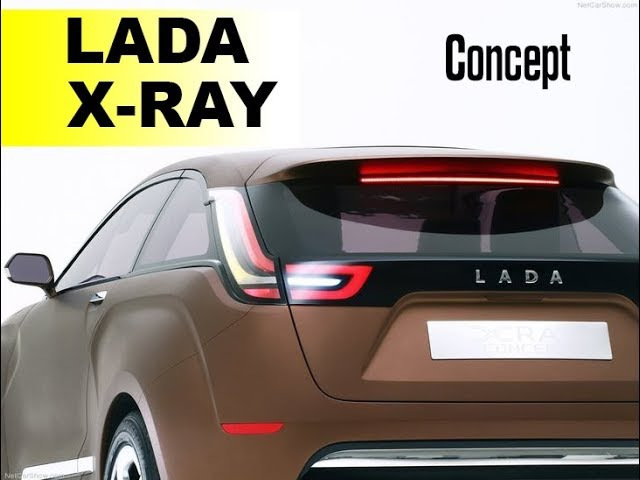Lada Xray Concept2 2018