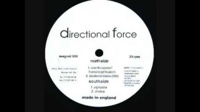 Directional Force (aka Dave Clarke) - One thousand