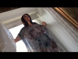 Xenia wood - on window (trailer)