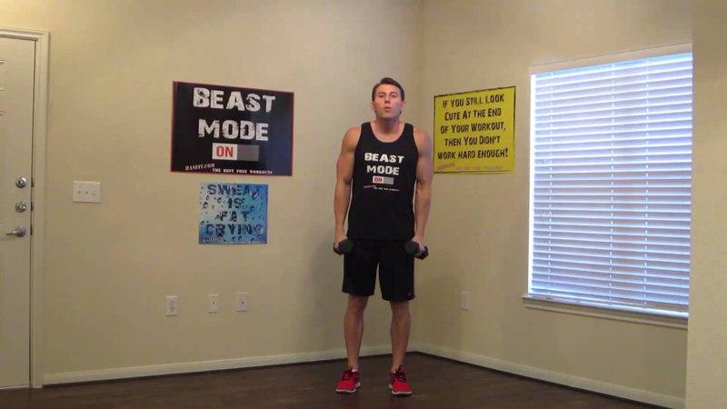 6 минутная тренировка трапециевидных мышц 6 Minute Traps Workout HASfit Traps Exercises to Work Traps Trap Exercise Trapezius Workouts
