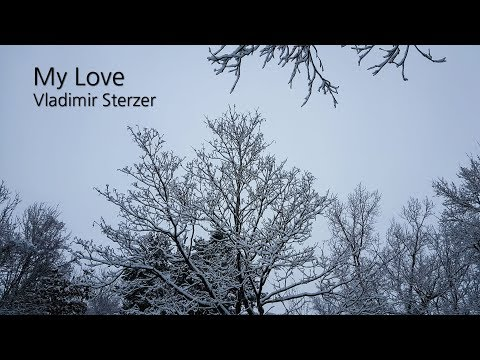 Beautiful winter scenes with piano music │ Emotional piano music │ Vladimir Sterzer