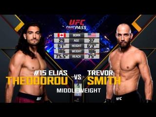 UFC FN 130 Elias Theodorou vs Trevor Smith