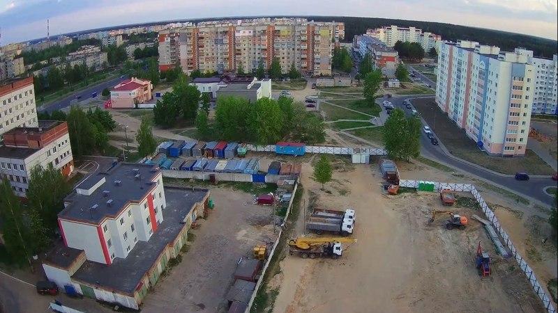 Строительство школы. ул. Трусова, г. Борисов.