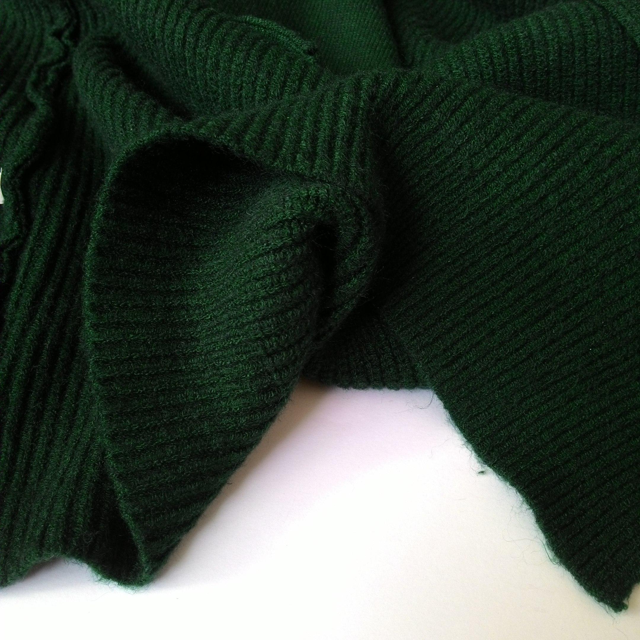 Мягчайший кардиган темно-зеленого цвета из магазина Sishot Store