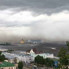 @ko_lyam_ba on Instagram: Сегодня стал свидетелем как в Нижнем Новгороде ураган накрыл стадион #стадион #нижнийновгород #ураган #футбол #фифа #спо...