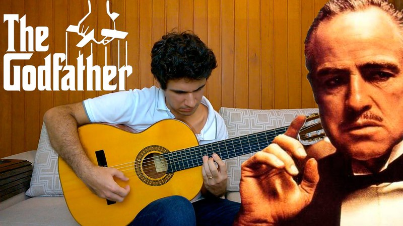 The Godfather Theme Song - Solo Acoustic Guitar (Marcos Kaiser) 45