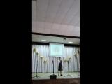 Локтионова Валерия - «Женька» (муз. Евгения Жарковского, сл. Константина Ваншенкина)