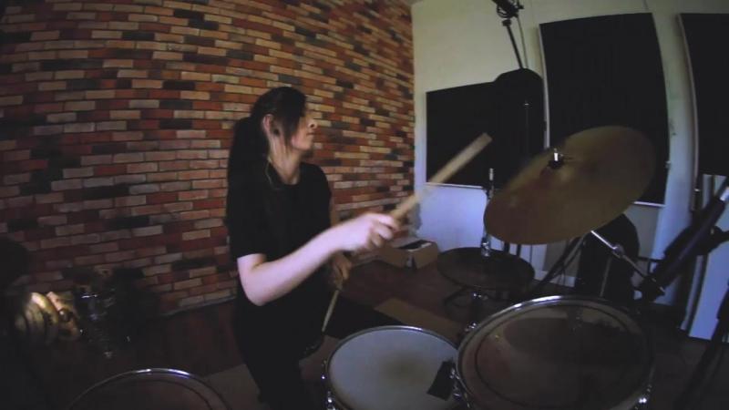 Royal Blood - Out Of The Black - Drum cover - Мила Буздова(GORODKOVDRUM)