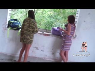 Спалил эротическую фотосессию двух девушек на заброшке; Ору