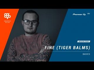 FINE (TIGER BLAMS) Megapolis 89.5 fm [ basics ] @ Pioneer DJ TV | Moscow