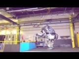 Новые испытания робота Boston Dynamics Atlas
