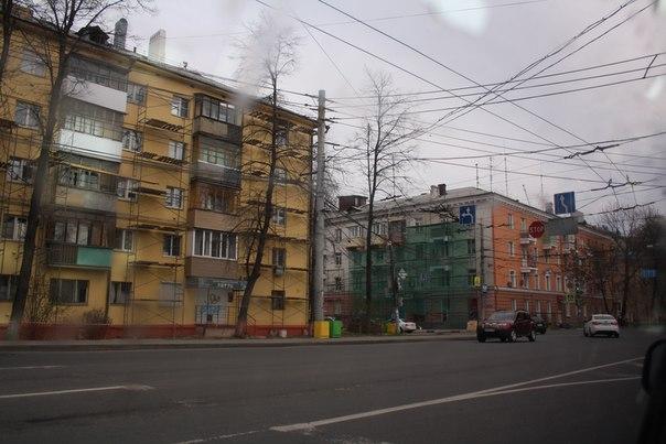 Реновация (зачёркнуто) капитальная покраска фасада.  30 апреля 2018