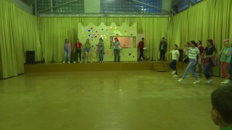 танец амазонок 3 отряда 2017