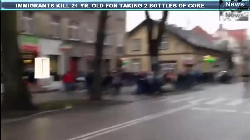 Polish Man Killed In Fight With Immigrant Poles Destroy Migrant's Business