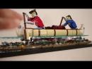 Путешественники на каноэ LEGO модель