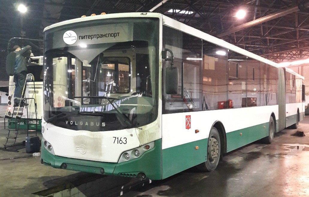 Новый автобус, построенный на замену сгоревшему