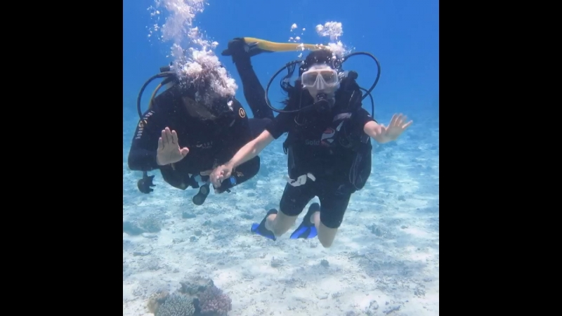 Танец 💃🏻 под водой 💃🏻😂😂