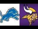 NFL 2017-2018 / Week 4 / 01.10.2017 / Detroit Lions @ Minnesota Vikings