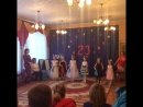Танец девочек Синий платочек.